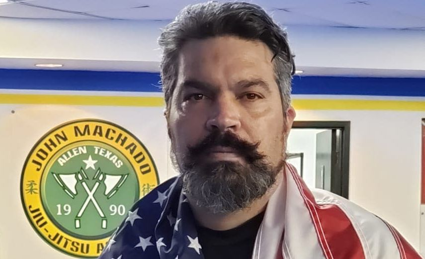 Professor John Machado Brazilian Jiu Jitsu Coral Belt in Allen Texas